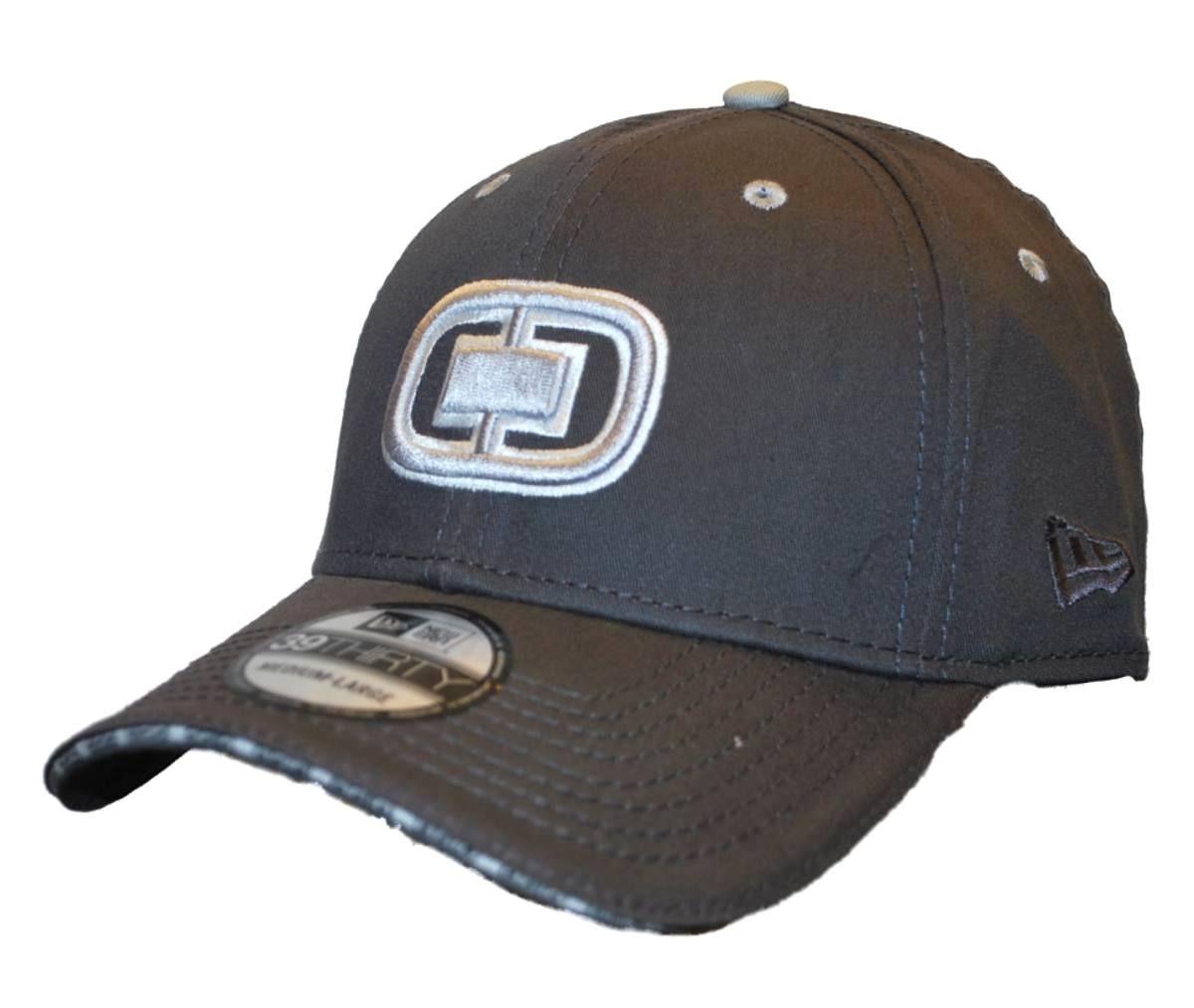meet 5f058 05ad0 OGIO New Era 39Thirty Slate Gray Flexfit Golf Hat Cap