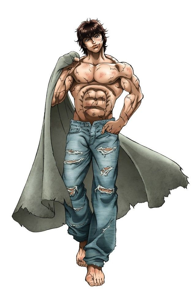 Baki Hanma Comic Book Body Inspiration Pinterest Anime Manga