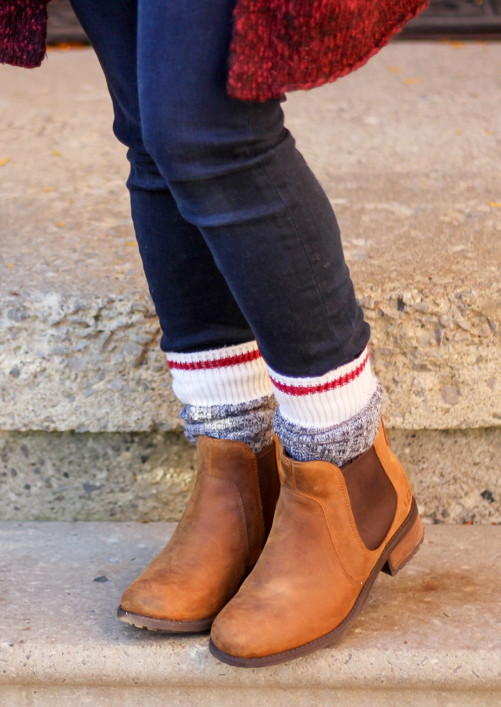 e03c5648766 My 10 Favourite Things About Fall | My fashion | Sock boots outfit ...