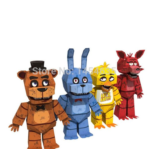 Cheap Wholesale Hot Sale Papers /Set Five Nights At Freddy