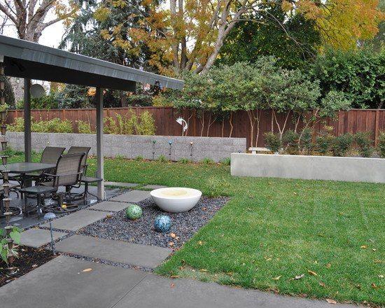 hang befestigen stützmauer-betonelemente Gartenbau-tipps Garten - garten selbst gestalten tipps