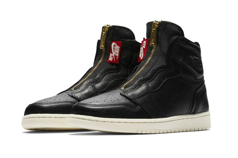 new concept 9fdb7 c07a4 Nike Teases Deconstructed Air Jordan 1 With Zipper