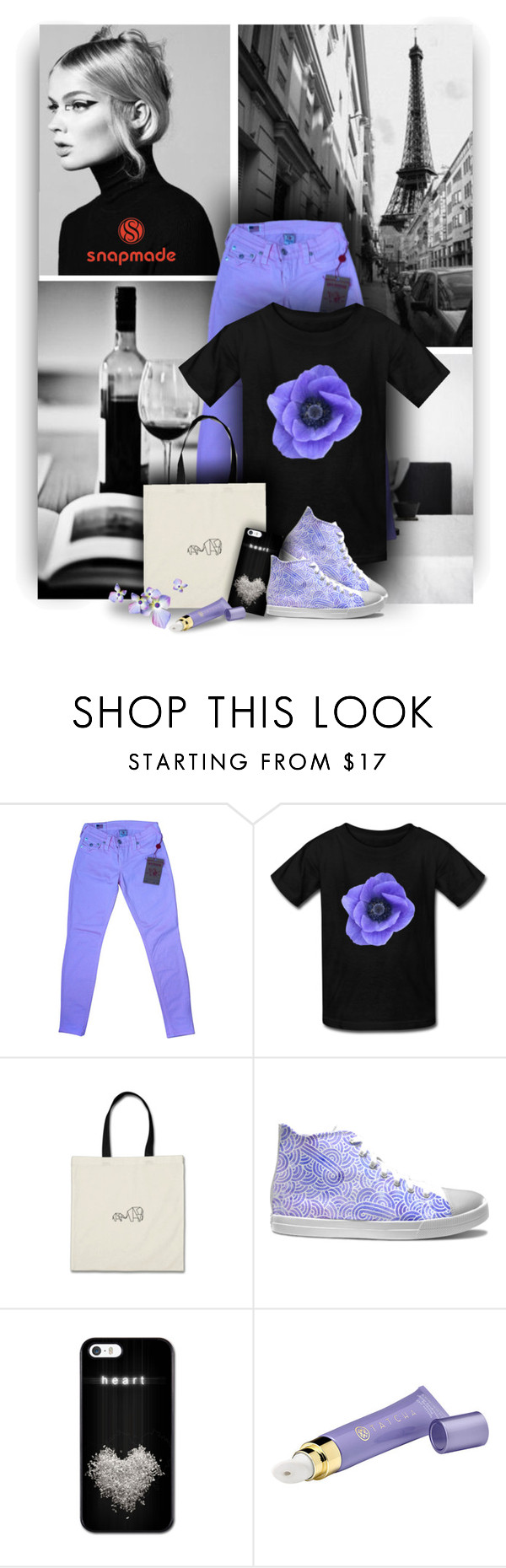 """""""Beautiful Styles - Snapmade"""" by christiana40 ❤ liked on Polyvore featuring True Religion and Tatcha"""