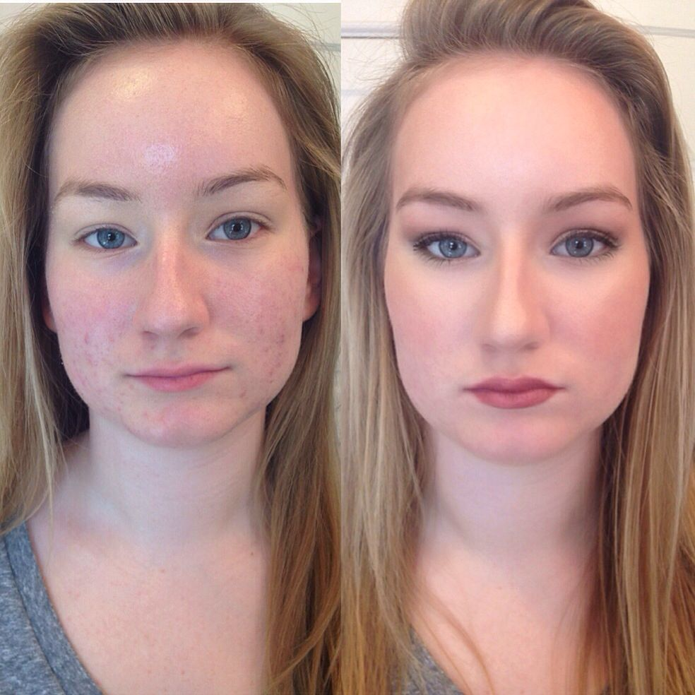 Before and after airbrush makeup (With images) Makeup