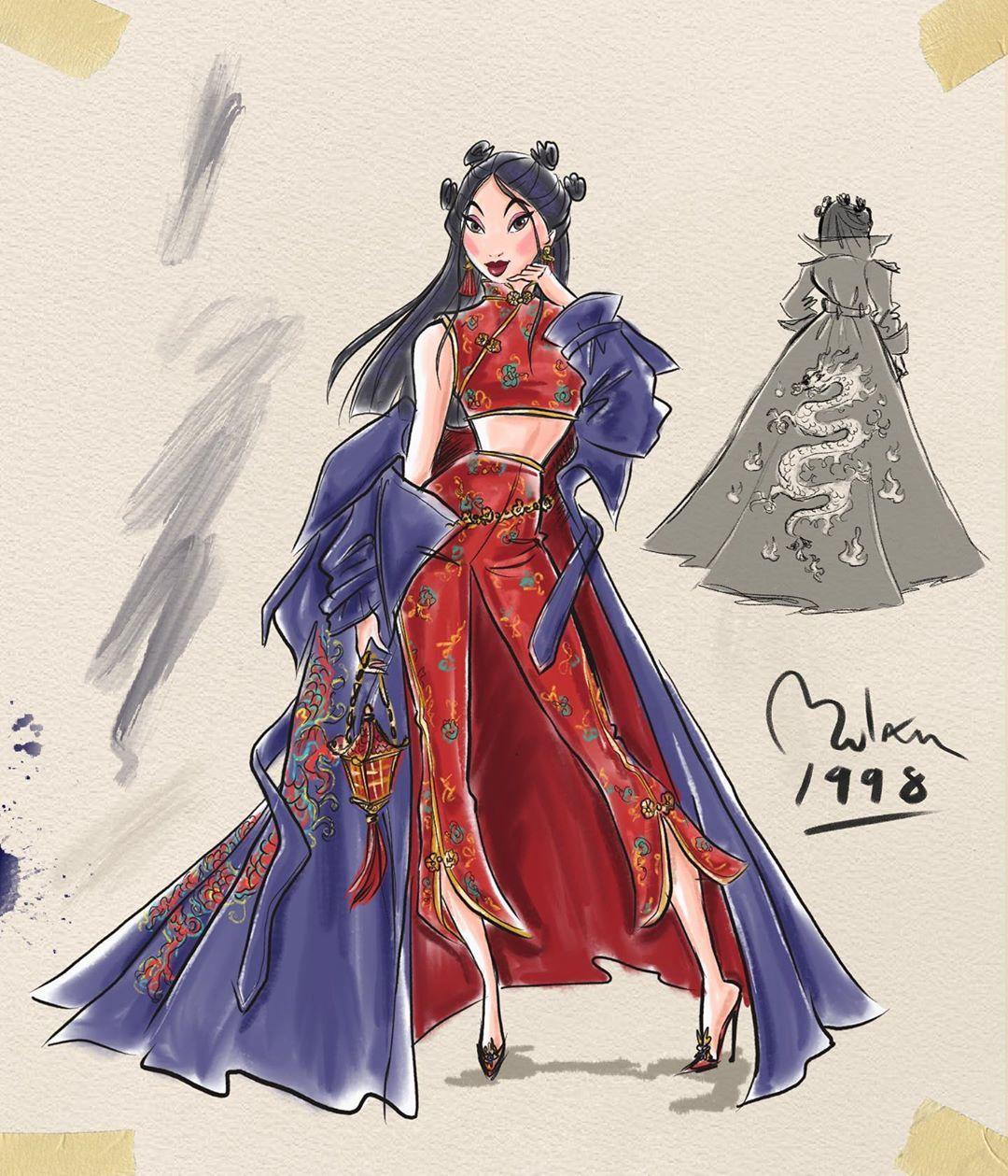 Disney Designer Series Artist Is Thevinylscene Ariel Thelittlemermaid Cinderella Disney Princess Fan Art Disney Princess Art Mulan Disney