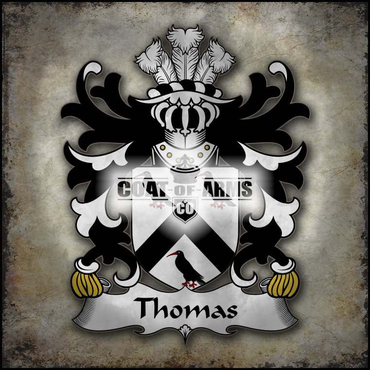Thomas (AP GRUFFUDD AP NICOLAS) Family Crest - Welsh Coat of Arms
