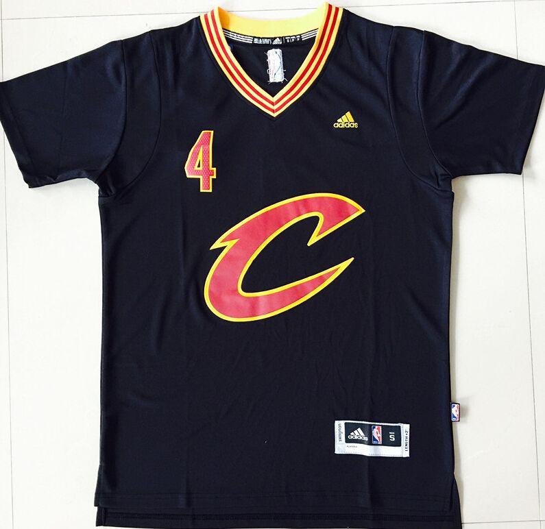 premium selection 43b27 72a2d cleveland cavaliers black short sleeve jersey