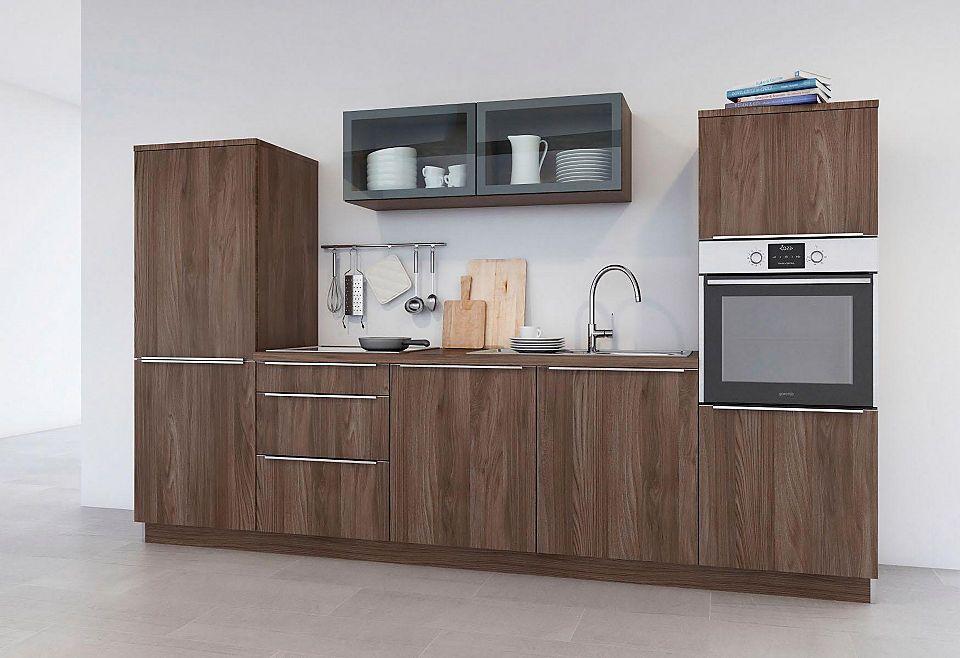 set one by Musterring Küchenzeile »Pisa« ohne E-Geräte, Breite 300 - esszimmer mobel musterring