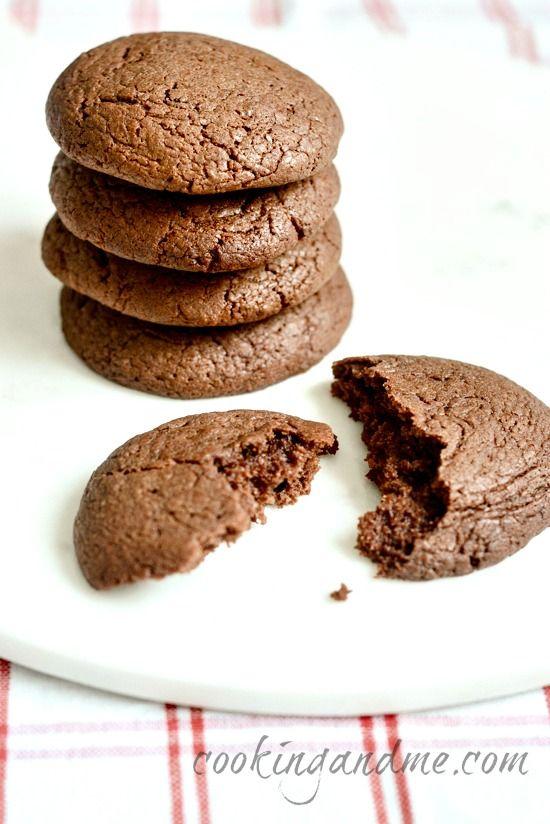 4 Ingredient Nutella Cookies Recipe Step By Step Edible Garden Recipe Nutella Cookies Nutella Cookies Recipe Cookie Recipes