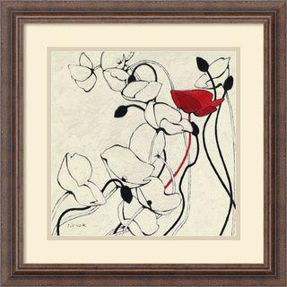 @Overstock.com - Shirley Novak Filament de Vie II Framed Art Print - Artist: Shirley NovakTitle: Filament de Vie IIProduct type: Framed art print  http://www.overstock.com/Home-Garden/Shirley-Novak-Filament-de-Vie-II-Framed-Art-Print/6834599/product.html?CID=214117 $94.49