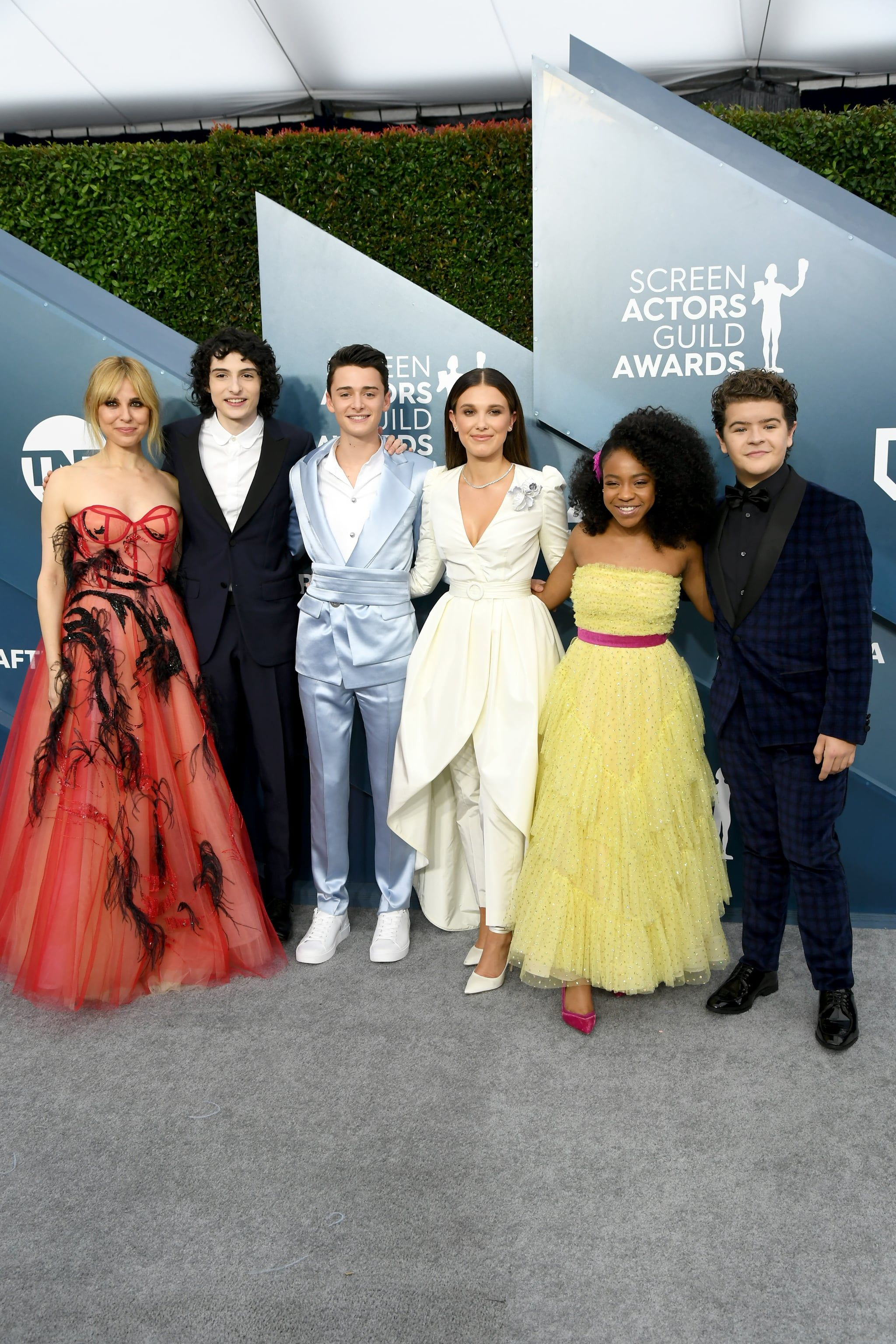 The Stranger Things Cast Reunite at the SAG Awards Before Going Back to Hawkins