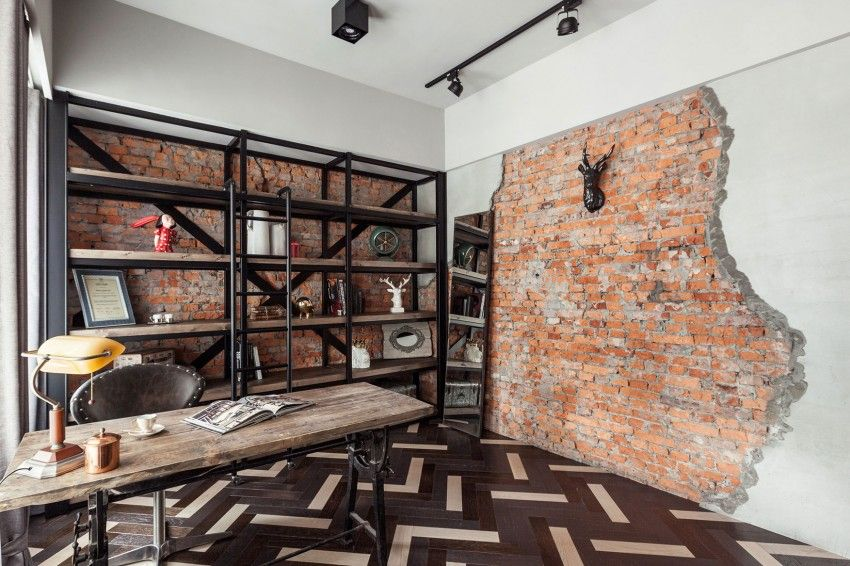 Industrieller schick interieur moderner wohnung  Apartment Refurbishment by CHI-TORCH Interior Design (10) | House ...