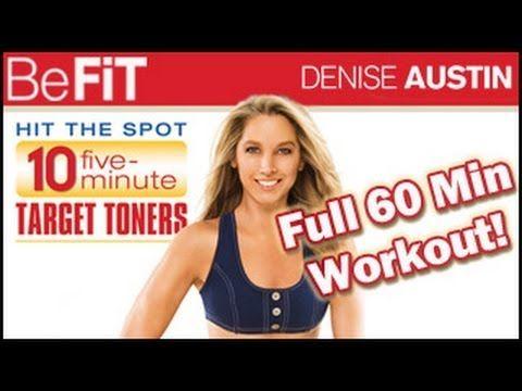 nice Denise Austin: Total Body Target Toning Workout- Full 60 Min Fitness Series