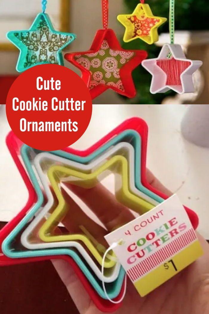 Gingerbread cookie garland Christmas cookie decor Cookie cutter garland Star banner Christmas cookie bunting Christmas cookie garland
