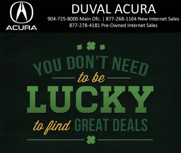Acura Dealer In Jacksonville, FL