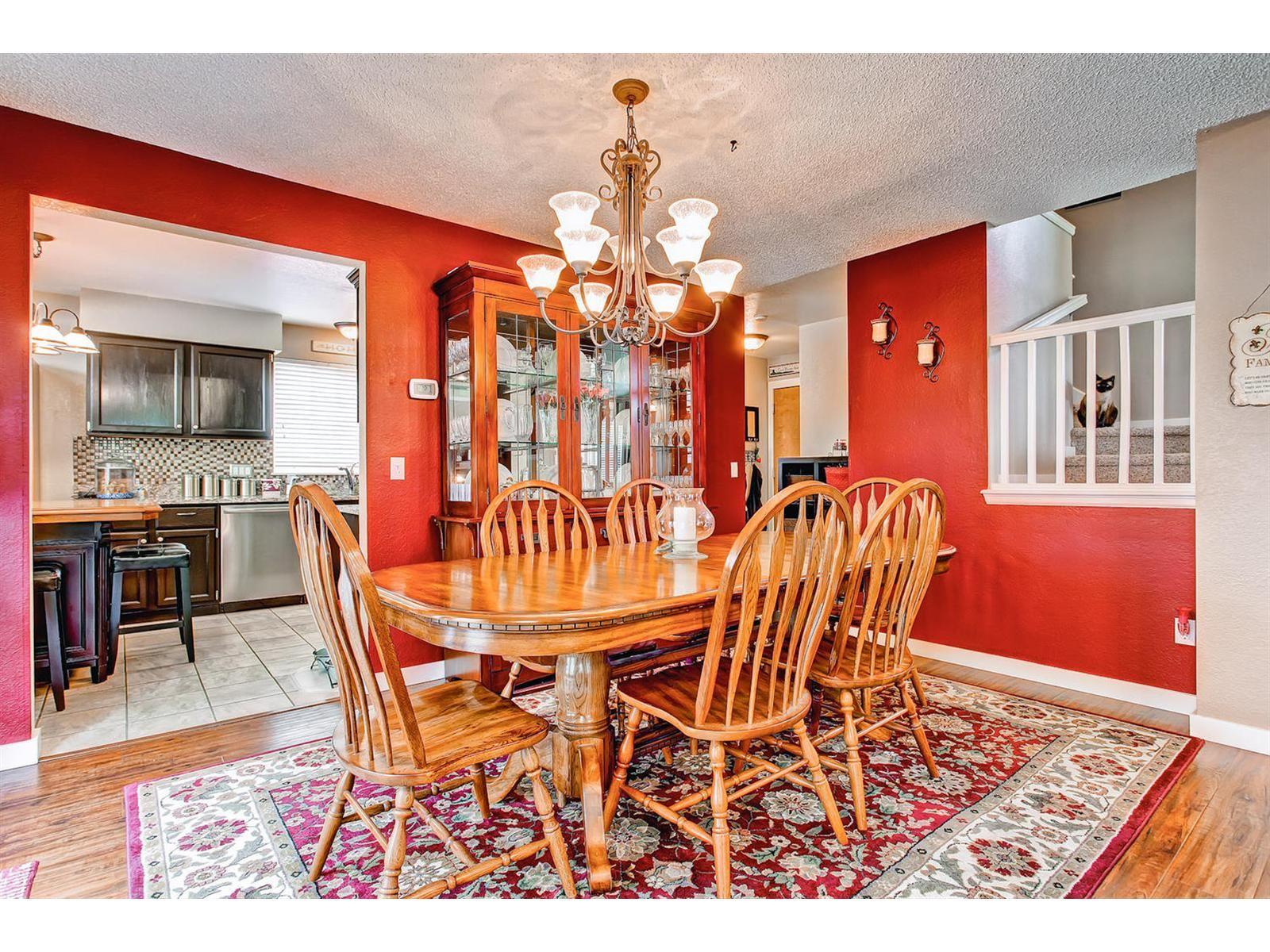 Large Dining Room Adjacent To Kitchen