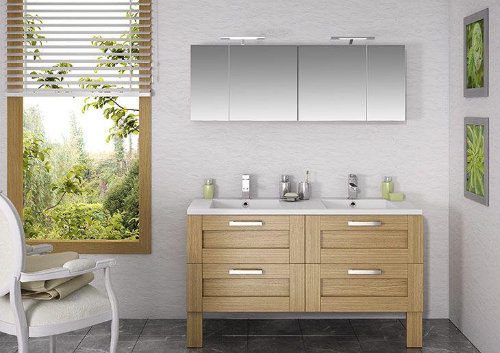 meubles salle bains CORALINE de ORIALYS DISCAC - Meubles de salle