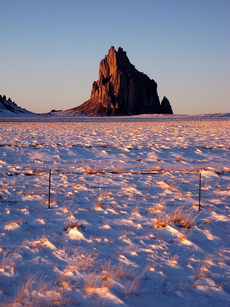 Christmas Day in Shiprock, USA