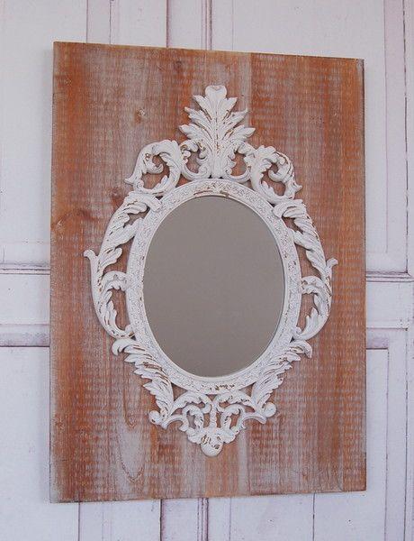 Windschief Living landhaus wandspiegel spiegel barock shabby 70 cm von windschief
