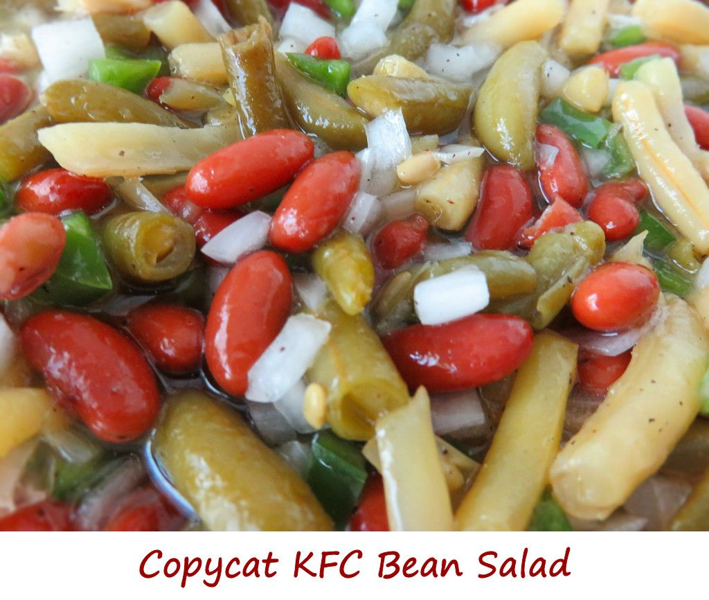 Copycat Kfc Bean Salad Life S A Tomato Recipe In 2020 Bean Salad Restaurant Dishes Copycat Recipes