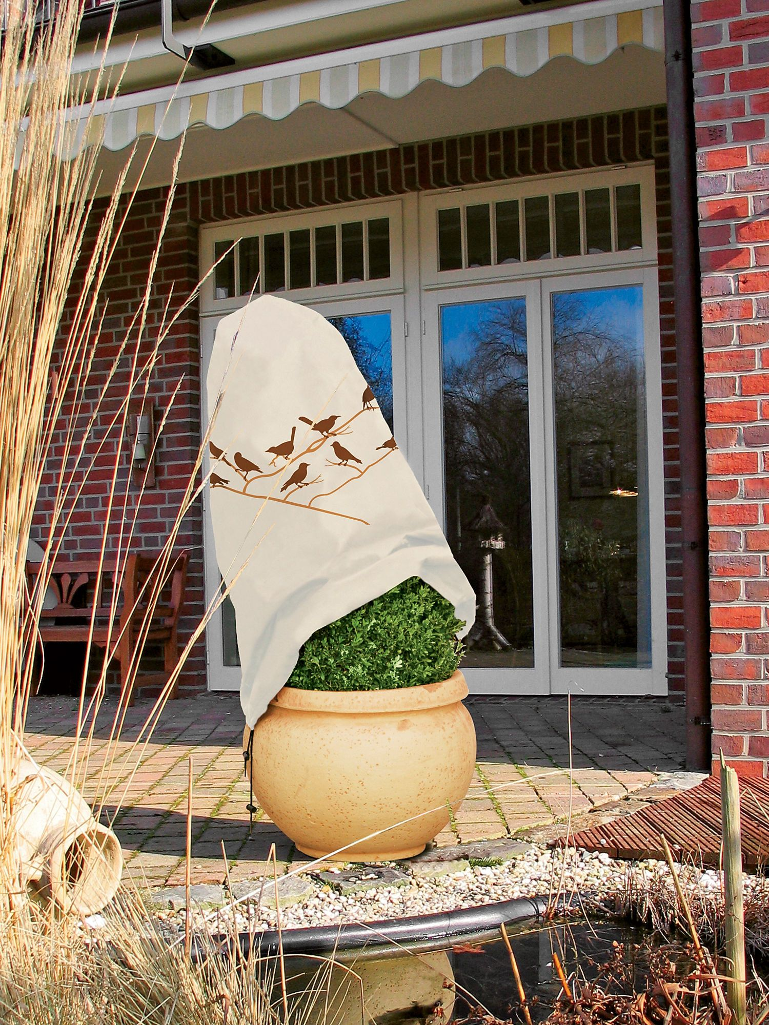Shrub Covers Shrub Jacket Winter Protection Container Plants Container Gardening Plants