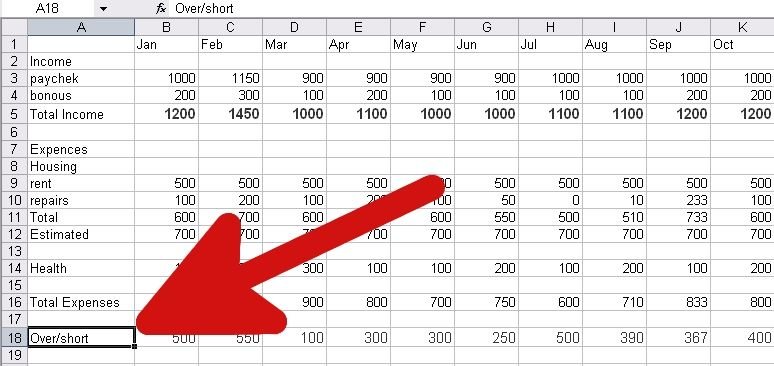 Make a Personal Budget on Excel Budget spreadsheet, Yearly and Budget - Create A Spreadsheet In Excel