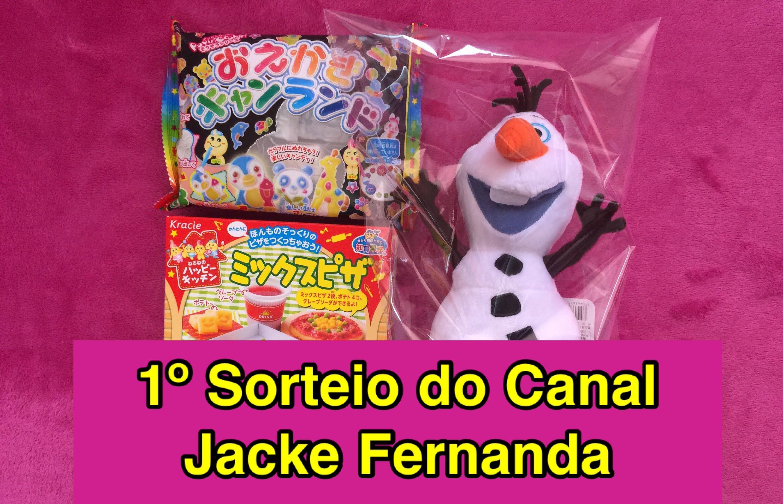 1° Sorteio do Canal Jacke Fernanda