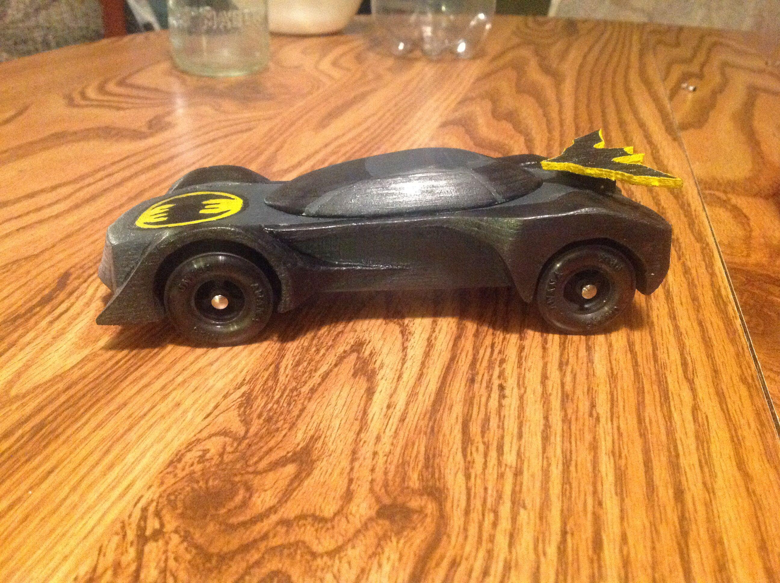 Batman pinewood derby car | Pinewood derby car | Pinterest