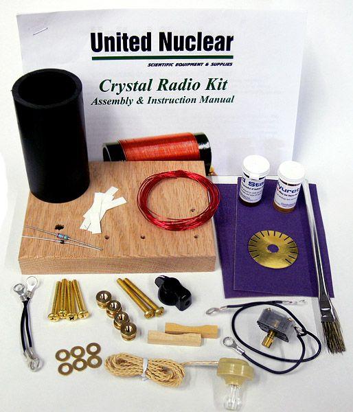 The Ultimate Crystal Radio Kit : United Nuclear , Scientific