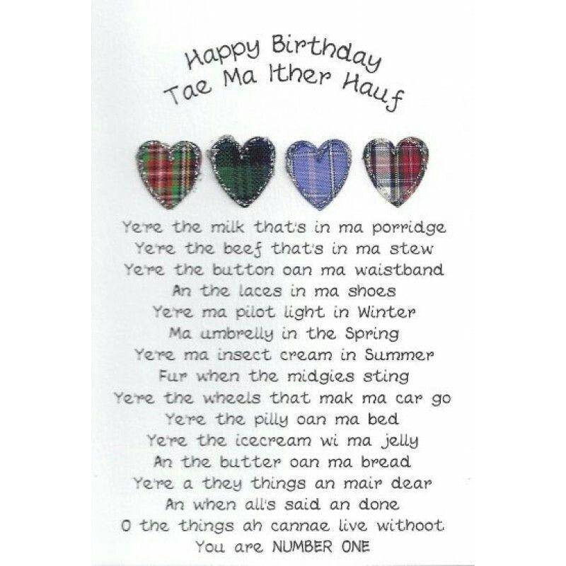 Birthday scottish stuff pinterest birthdays and scotland birthday m4hsunfo