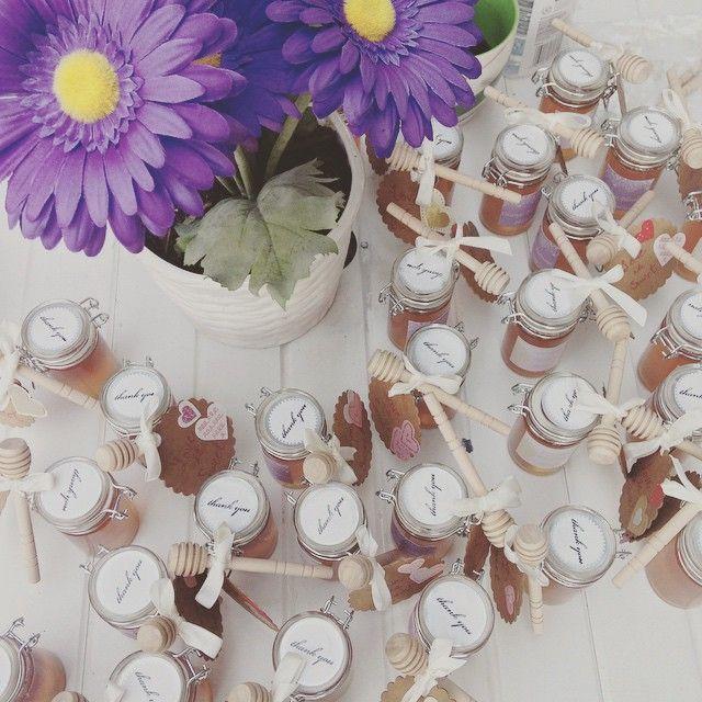nice vancouver wedding All done!:) #wedding #favours #vancouver #flowers #honey  #vancouverflorist #vancouverwedding #vancouverwedding