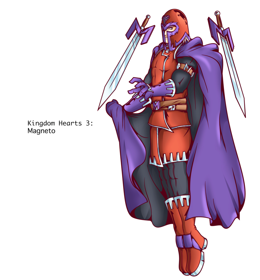 kingdom hearts 2 magneto