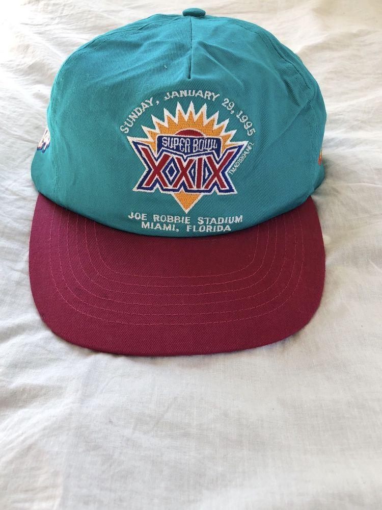 Super Bowl XXIX Hat VTG 1995 90s NFL Snapback Doritos Wavy Lays Retro Cap  Miami  NFL  BaseballCap  superbowl  vintage  vintagenfl  vintagefootball ... 65bd6b373