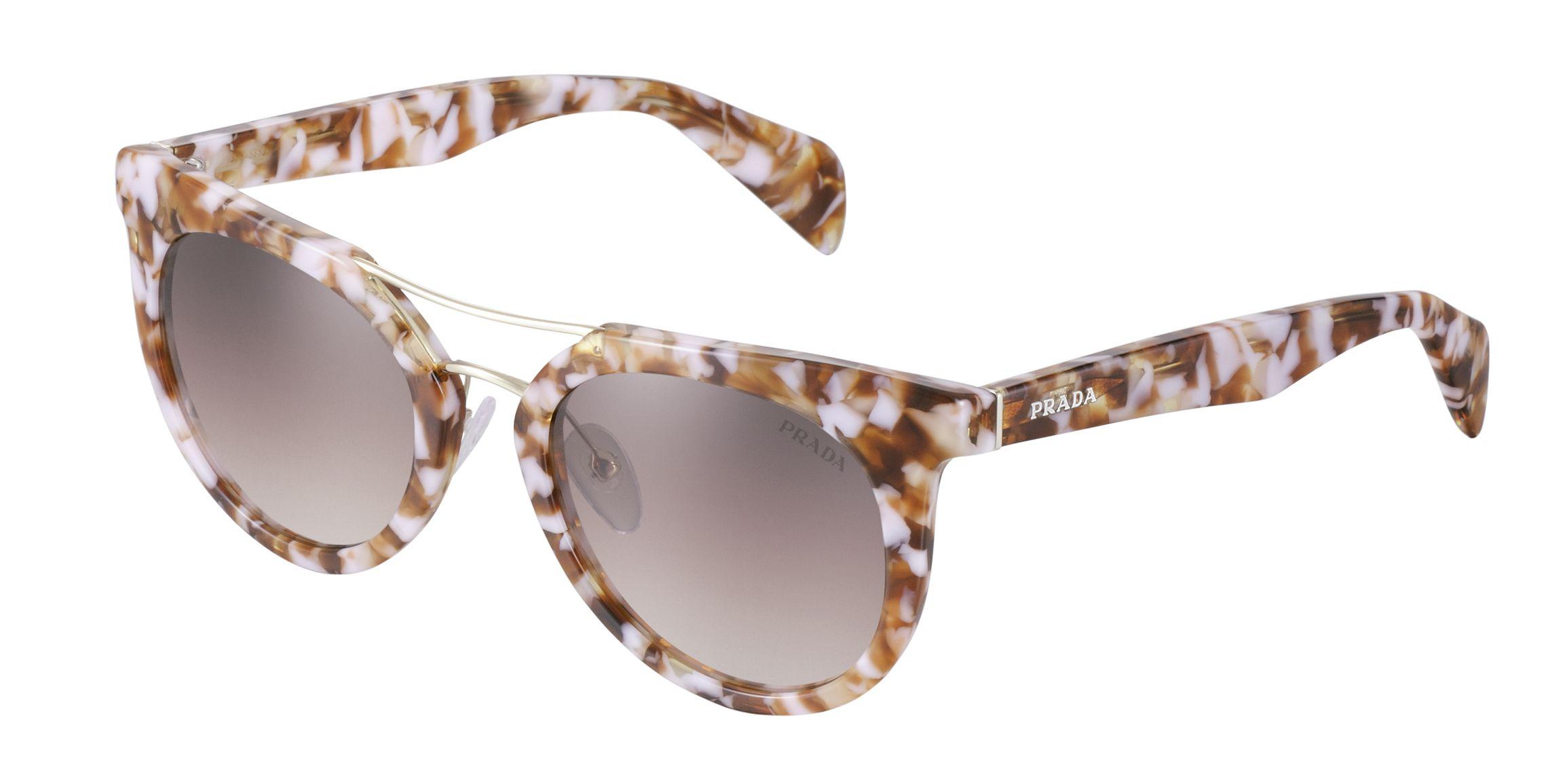 b4d5201e878 Prada printed sunglasses. California Dreamin. TENMAG fashion magazine Junio  2013