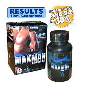 Max Man The Originals Enhancement Pills