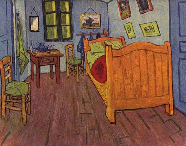 Slaapkamer in Arles van Vincent van Gogh | H | Pinterest | Van gogh