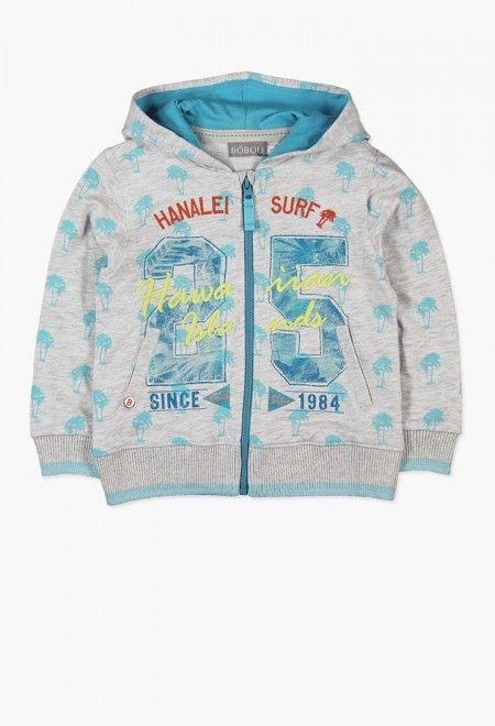 boboli Fleece Jacket For Baby Boy Sudadera Beb/é-para Ni/ños