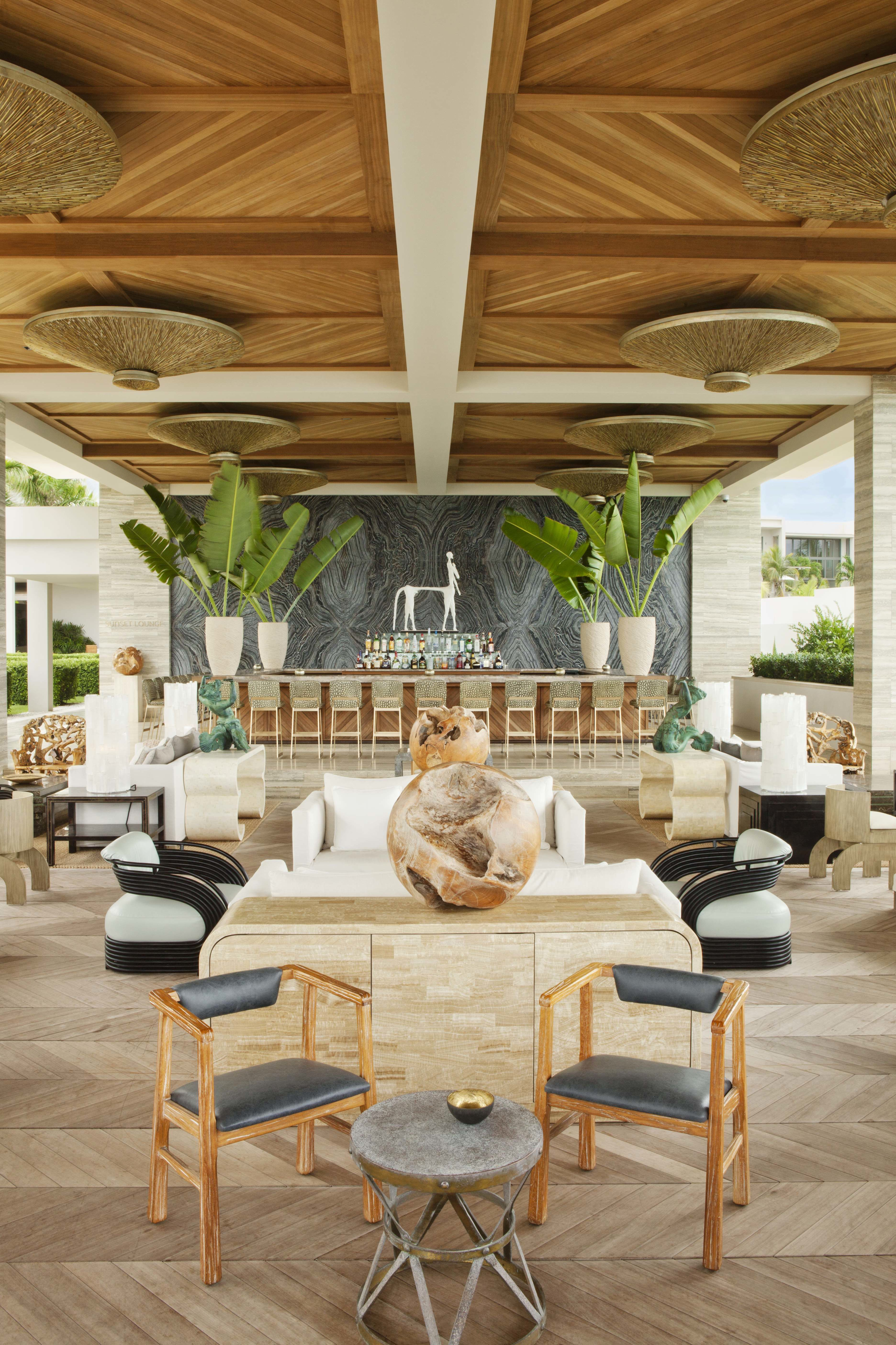 14 Hip Hotels Around the World | Kelly wearstler, Teak and Commercial