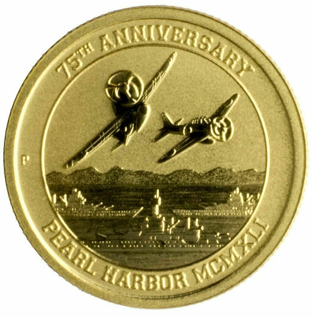 2016 P 15 Pearl Harbor Perth Mint 1 10 Oz 9999 Gold Coin In 2020 Gold Coins Gold Coins Money Gold Coins For Sale