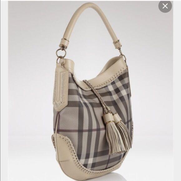 burberry bag hobo