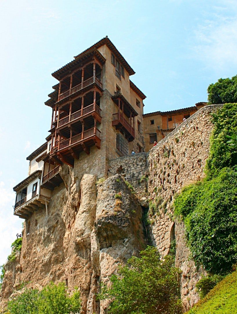 Gallery Don T Look Down The Most Spectacular And Precarious Cliff Side Houses Cuenca Spain Cuenca Historic Homes