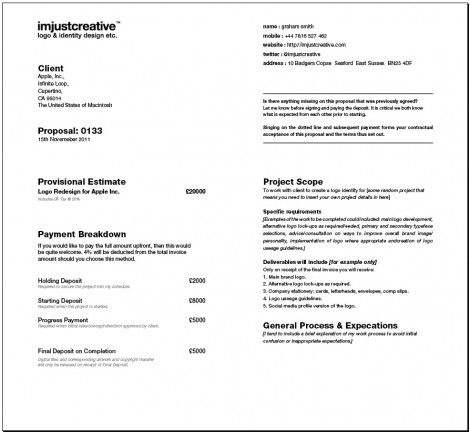 Client Proposal Templates For Download 5 Page Indesign File