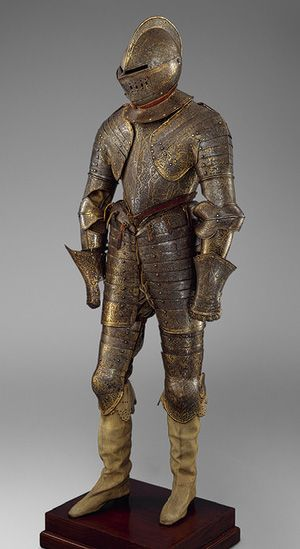 Armor for Heavy Cavalry [French] (27.177.1,2) | Heilbrunn Timeline of Art History | The Metropolitan Museum of Art