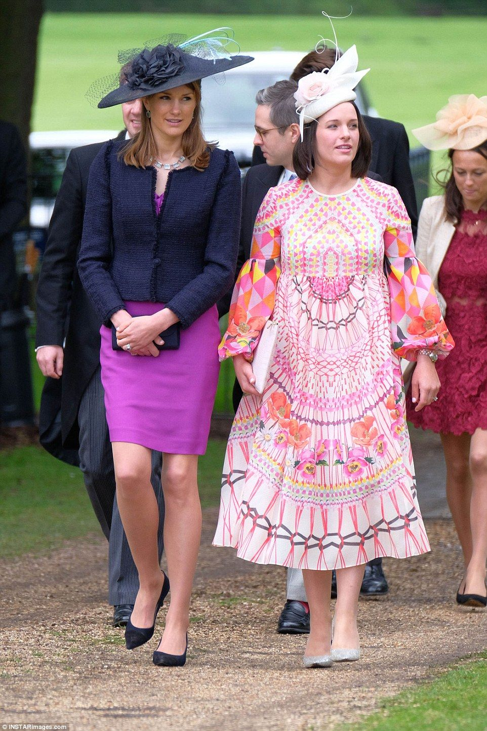 Stylish guests arrive at Pippa Middleton\'s wedding