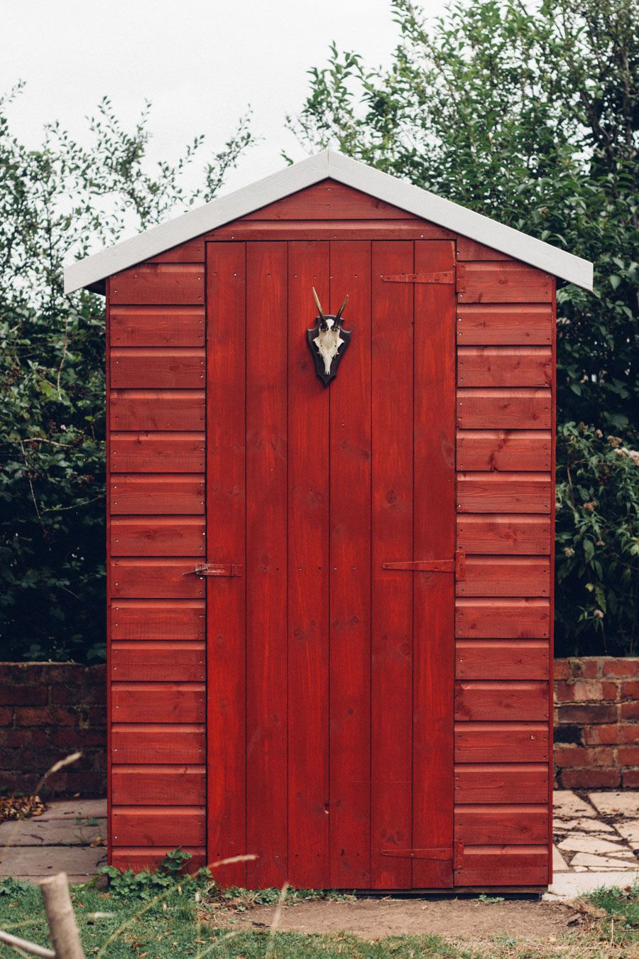 Superieur Swedish Style Garden Shed Makeover With B And Q