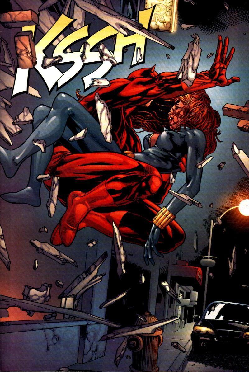 Black Widow and Daredevil by dark-BuB on DeviantArt