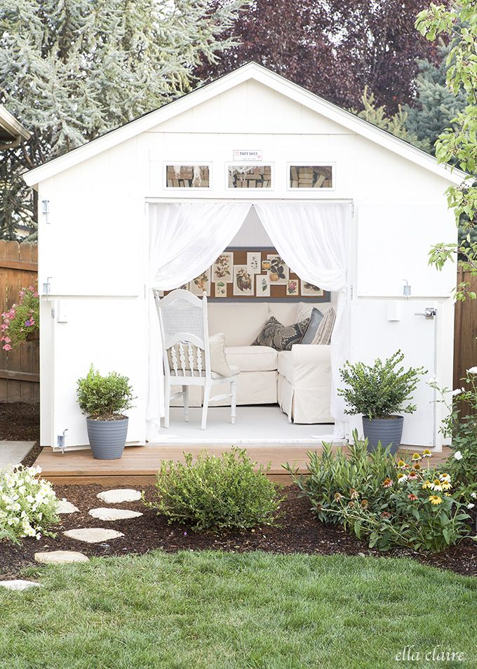 Just The Beeu0027s Knees: Trendy Tuesday ~ Move Over Man Cave! Make Way For The  She Shed.