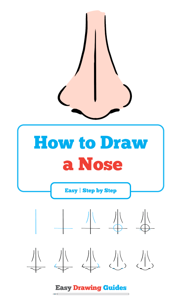 How to Draw a Nose – Really Easy Drawing Tutorial ...