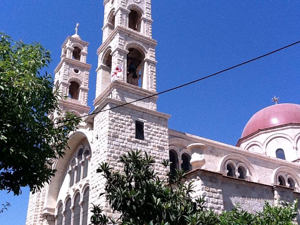 Jacob's Well in a Greek Orthodox Church in Nablus ...