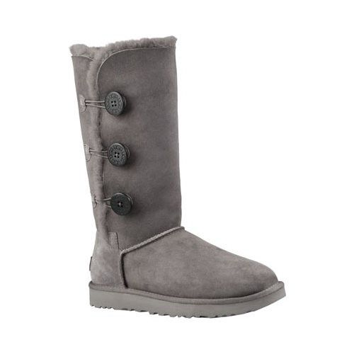 23fd8558ae7 UGG Women's Bailey Button Triplet II Boot, Size: 8, Grey   Products ...